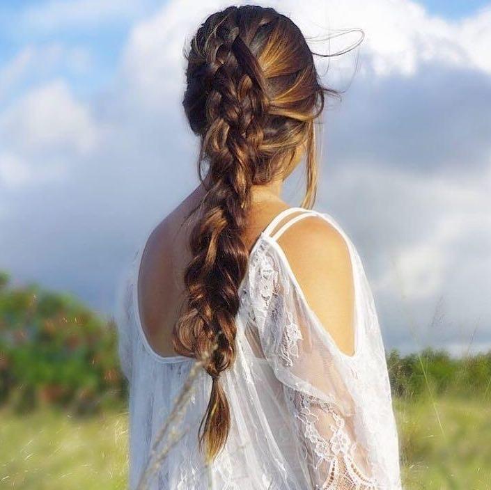 capelli sposa 2018 stile country