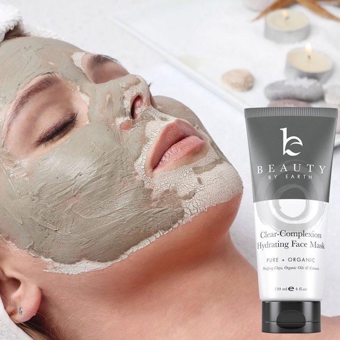 maschera argilla pelle capelli amazon
