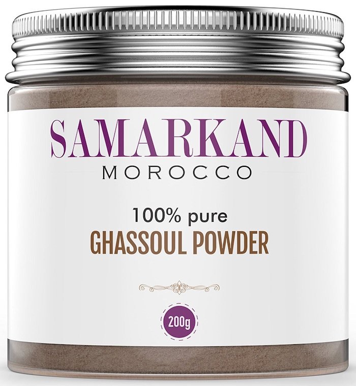 maschera argilla pura marocco amazon