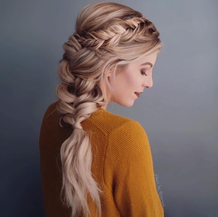 moda sposa 2018 capelli trucco