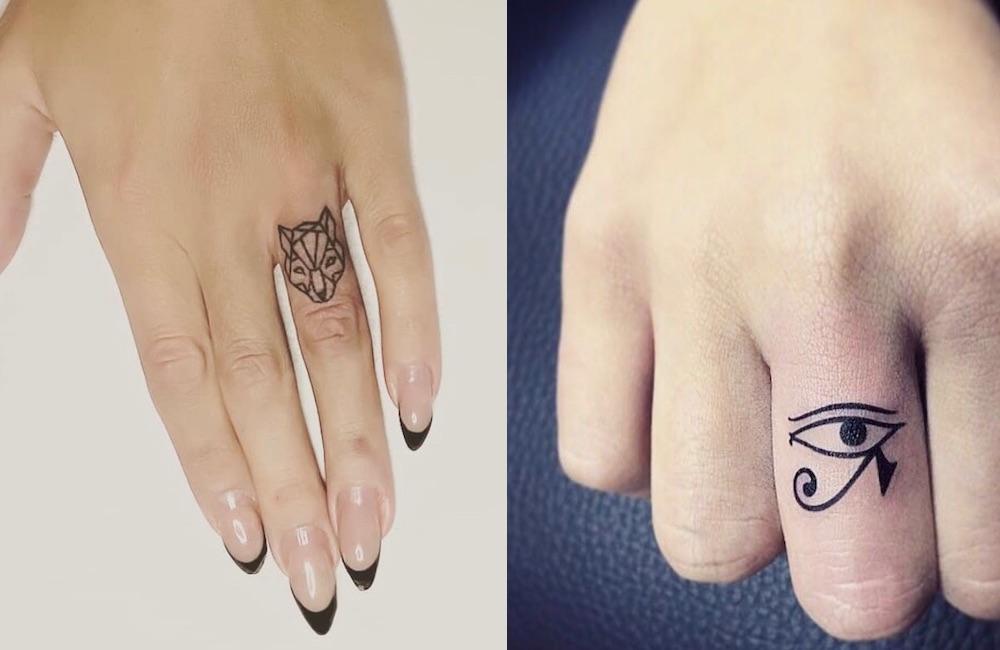 nuovi piccoli tatuaggi dita