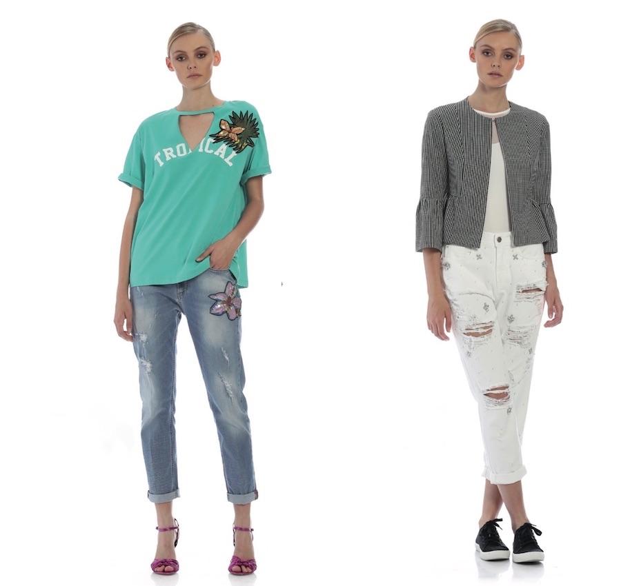 kocca jeans vita bassa strappati