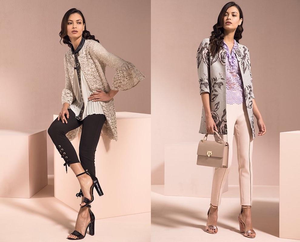 Tailleur giacca e pantaloni eleganti 2018