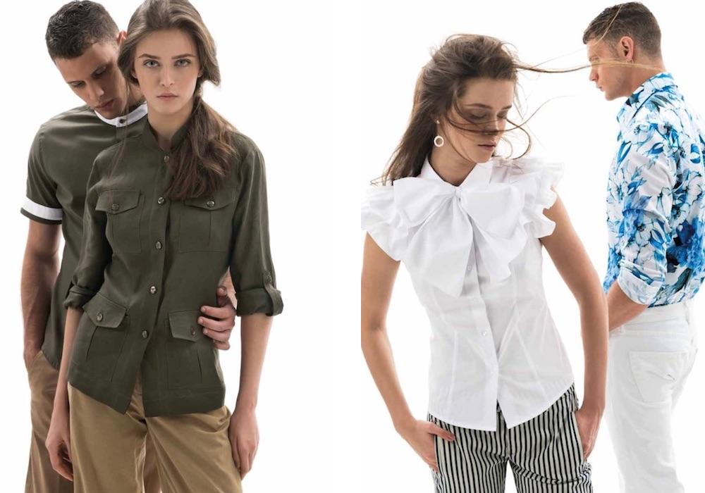 on sale 77e7f 1b44e Nara camicie Donna Uomo primavera estate 2018. Catalogo ...