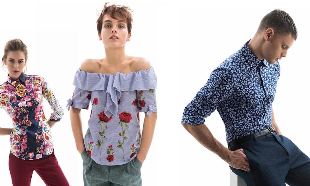 Nara Camicie Donna Uomo Primavera Estate 2018 Catalogo
