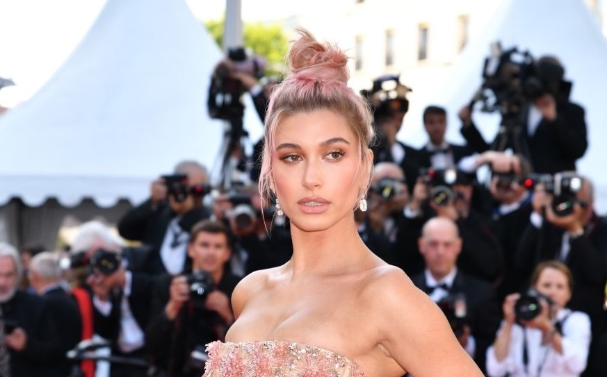 Hailey Baldwin cannes 2018