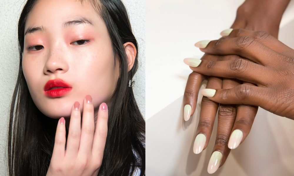 Unghie estive e nail art eleganti 2018