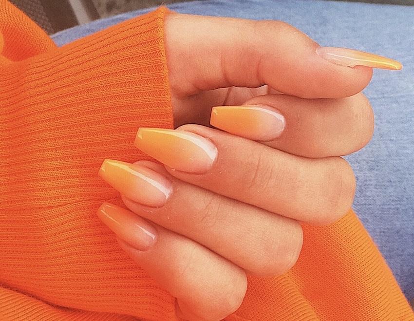manicure ombre estate 2018