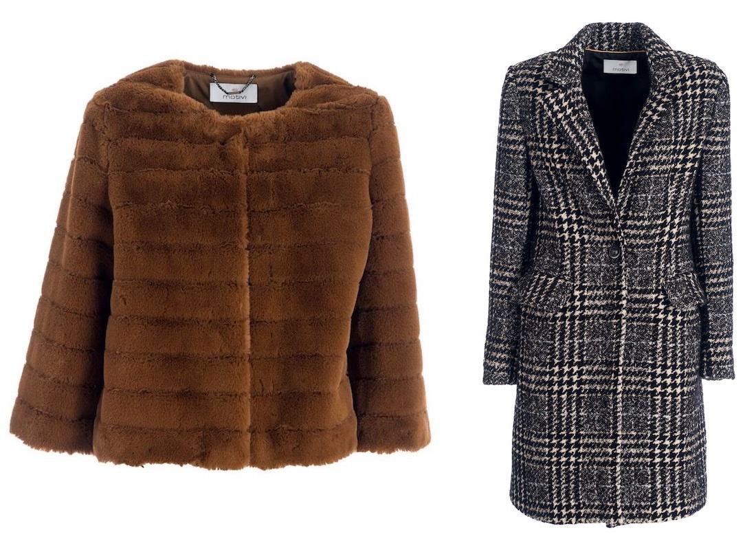 cappotti motivi inverno 2018-2019