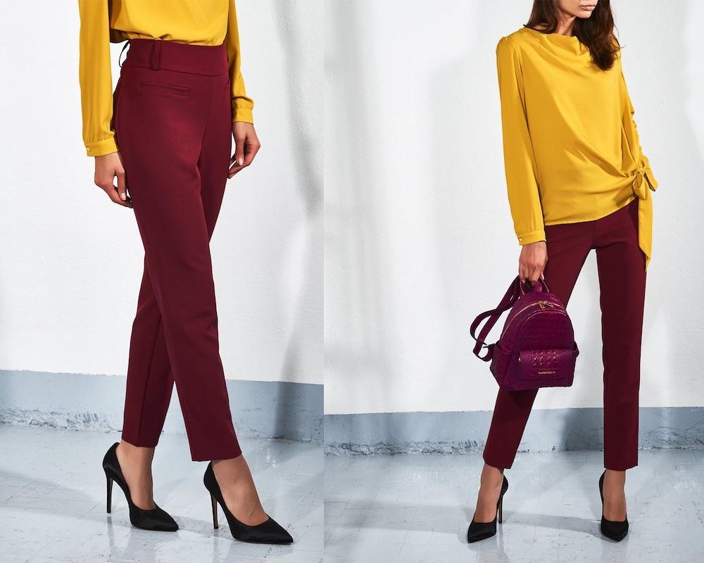 rinascimento abbigliamento pantaloni autunno inverno 2018-2019