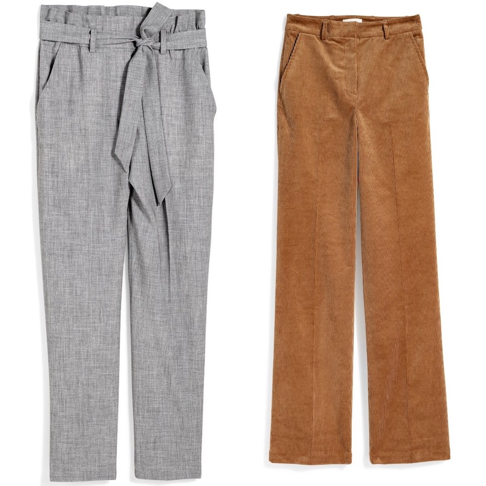 Pantaloni h m donna autunno 2018