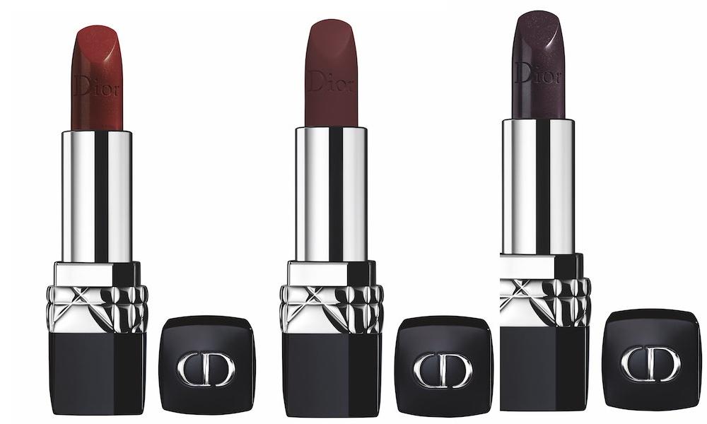 trucco Dior autunno 2018-rossetti matt