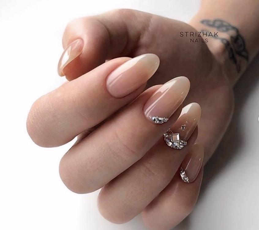 nail art Natale 2018-unghie gioiello