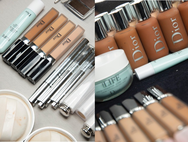 Dior Backstage make up 2019