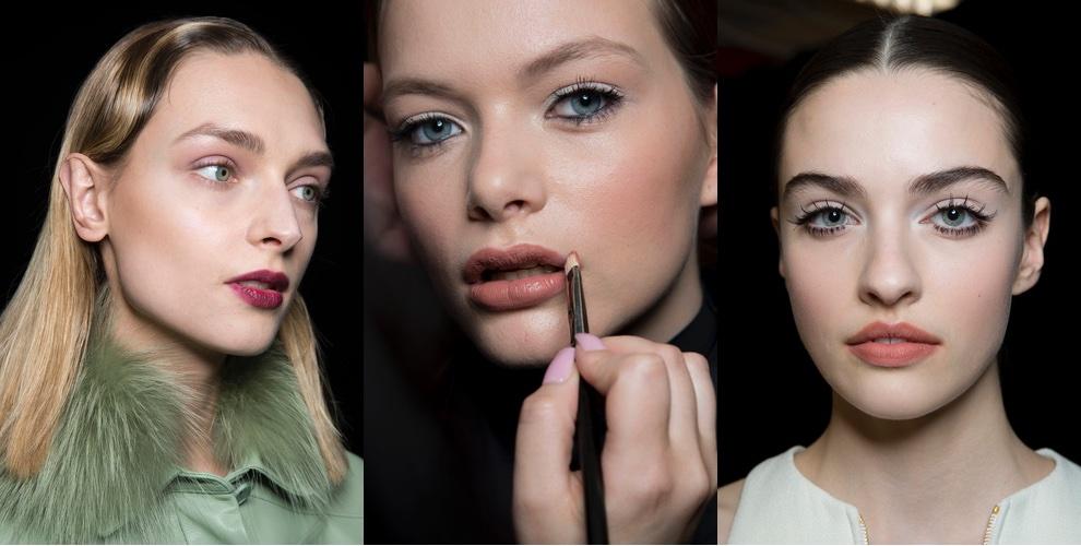 make up inverno 2019 2020 Rossetti