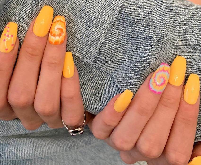 unghie nail art primavera estate 2019