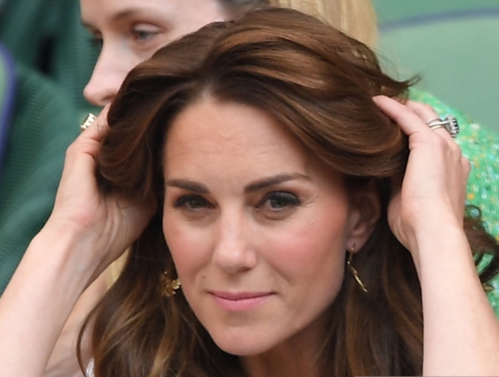 kate middleton capelli castano ramato tendenza 2019