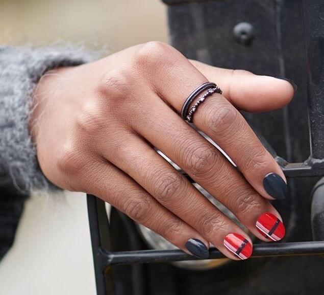 unghie corte nail arti invernali 2019 2020