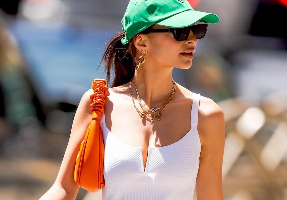 Emily Ratajkowski borsa moda
